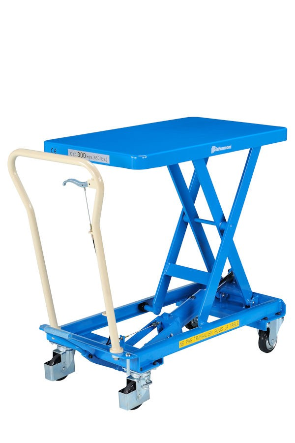 Bishamon 150 to 800  Kg single and double scissor elevator tables