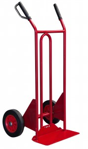 Professional 250 kg assisted tipping sack barrow