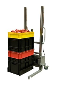 LEV100 stacker