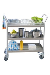 300  Kg stainless steel trolley