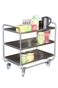160  –  200  Kg stainless steel trolleys