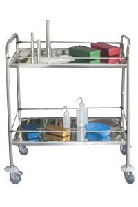 60  Kg stainless steel trolleys